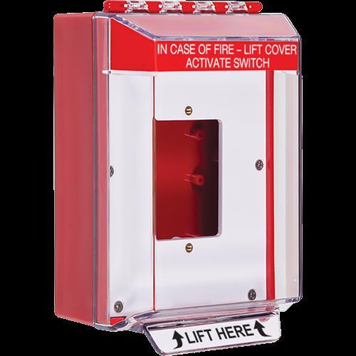 Safety Technology Low Profile Cvr Surface Mnt W/Enc Backbox W/Horn
