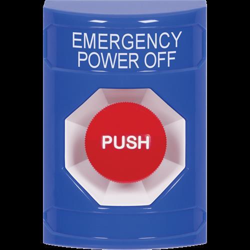Safety Technology Bl Mnmtry Ss W/No Cvr-Emergency Power Off-English