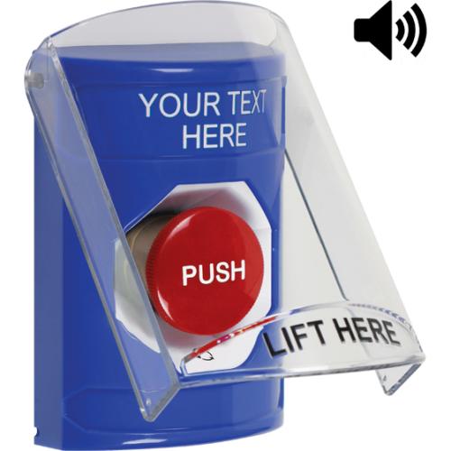 Blu Stppr Sta, Sti-6517a Shld W/Sndr, Push & Ttr,