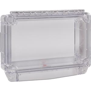 Safety Technology Polycarbonate Cover W/ Open Backbox