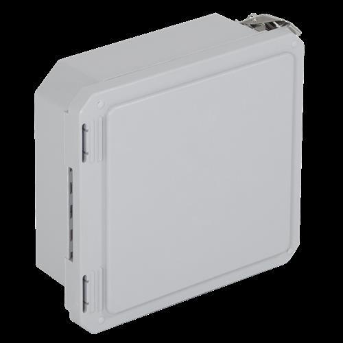 """STI EF080804-O Enclosure Fiberglass, 8"""" X 8"""" X 4"""", Opaque"""