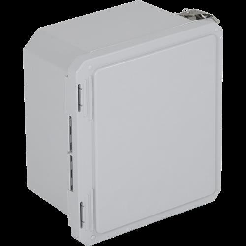"Safety Technology Enclosure Fiberglass 10 X 08 X 06"" - Opaque"