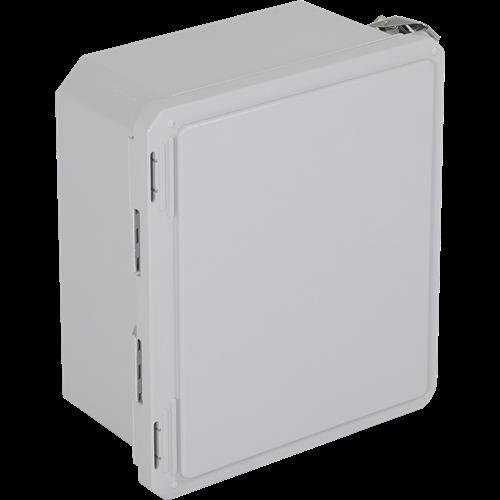 STI EF121006-O FiberglaStopper Station Enclosure 12 X 10 X 06 Opaque