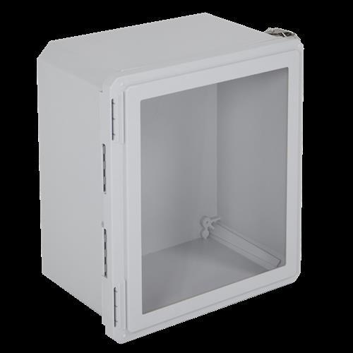 "Safety Technology Enclosure Fiberglass 16 X 14 X 08"""