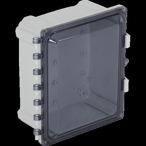 "STI EP101006-T Enclosure Polycarbonate, 10"" X 10"" X 6"", Tinted"