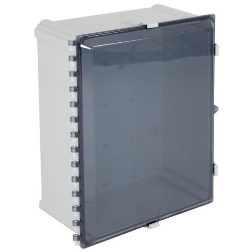 """Safety Technology Enclosure Polycarbonate, 16"""" X 14"""" X 9"""", Tinted"""