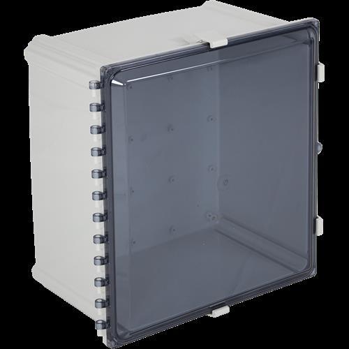 "STI EP181611-T Enclosure Polycarbonate, 18"" X 16"" X 11"", Tinted"