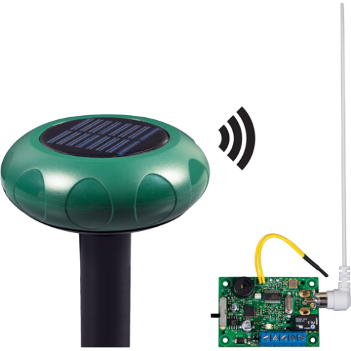 SOLAR POWERED DRIVEWAY MONITOR W/SINGLE CHANNEL SL