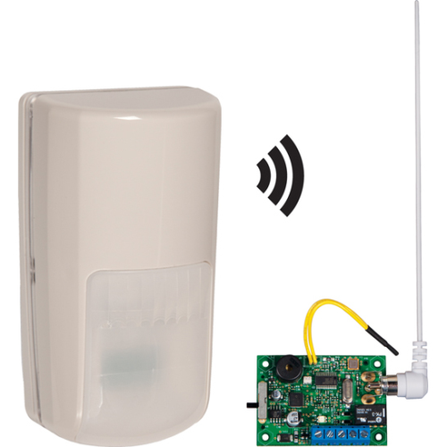 WRLS OUTDR MOTION DETECTOR W/SNGL CHANNSLV RCVR