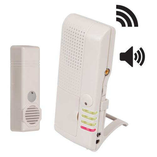 Safety Technology Wireless Pool Entrance Alert W/4chan Voice Recvr