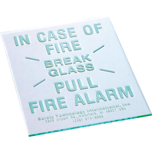 STI REPLCMNT GLASS F/SF-6100
