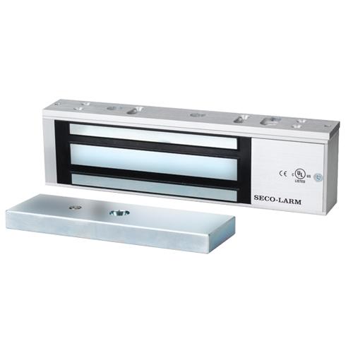 Seco-Larm 1,200-lb Electromagnetic Lock - Bond Sensor, Status LED, UL Listed