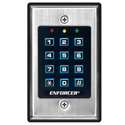 Enforcer SK-1011-SDQ Access Control Keypad