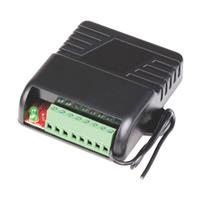 Seco-Larm 2-Channel RF Receiver, 11~24 VAC/DC, 315MHz, Two Relays