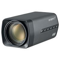 Hanwha HCZ-6320 2MP WiseNet HD+ Zoom Box Camera, WiseNet HD+ AHD or CVBS Formats, True WDR (120dB), 32X Optical Zoom