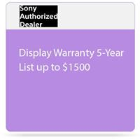 Sony Warranty/Support - 5 Year - Warranty