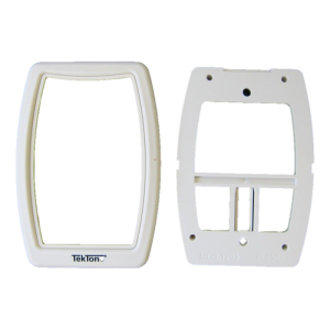 Single-Gang Mounting Kit Bezel & Plate For Sf121,