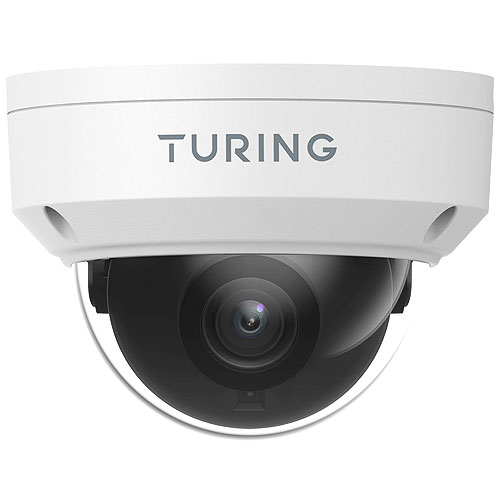 Turing Video Smart TP-MFD5A28 5 Megapixel Outdoor Network Camera - Color - Dome