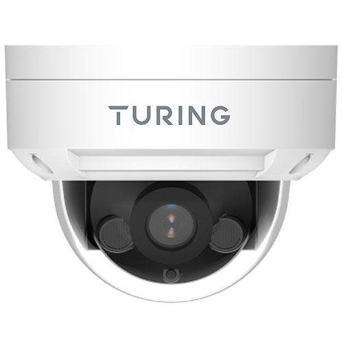 Turing TI-NFD08A28 ADVANTAGE Series 8MP IR Dome IP Camera, 2.8mm