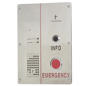 Voip-500 Series Call Station W/ Emergency & Info