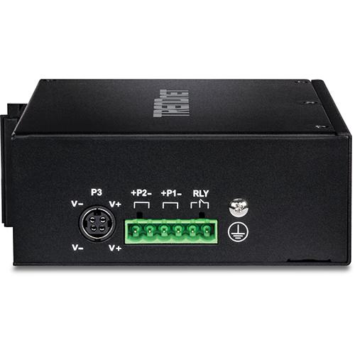 TRENDnet 16-Port Hardened Industrial Unmanaged Gigabit PoE+ DIN-Rail Switch; TI-PG162; 14 x Gigabit Ports; 2 x Gigabit SFP Slots; 32Gbps; IP30 Gigabit Network Ethernet Switch; Lifetime Protection