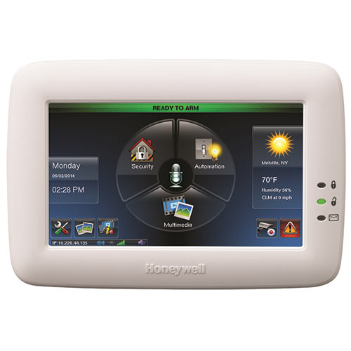 """TUXEDO TOUCH WIFI 7"""" COLOR ZWAVE HOME AUTOMATION CONTROLLER, WHITE"""