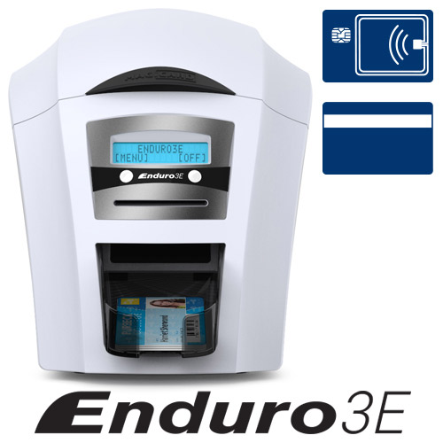 Magicard Enduro3E Single Sided Dye Sublimation/Thermal Transfer Printer - Color - Desktop - Card Print