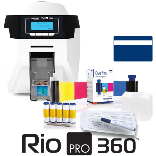 RIO PRO 360 SINGLEMAGNETIC ENCODERPRINTER BUNDLE