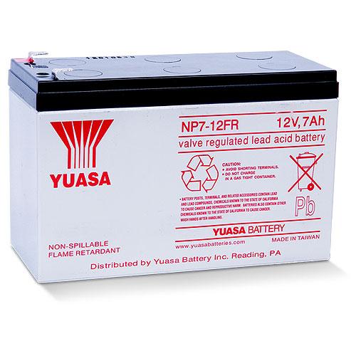Yuasa NP7-12FR General Purpose Battery