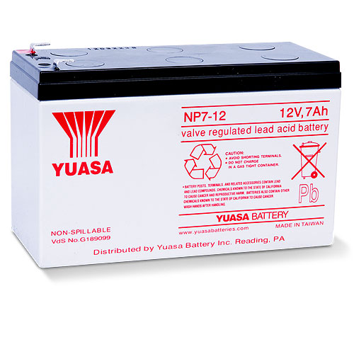 Yuasa NP7-12 General Purpose Battery