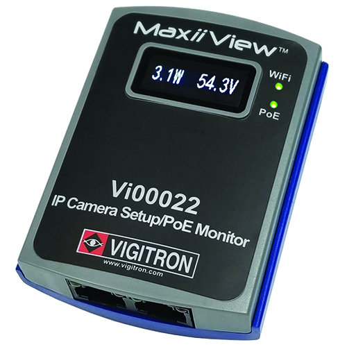 Vigitron MaxiiView Wireless IP Camera setup and PoE Tester Tool