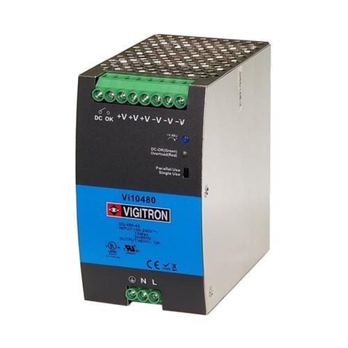 Vigitron Vi10480 480W Hardened Din Rail Power Supply