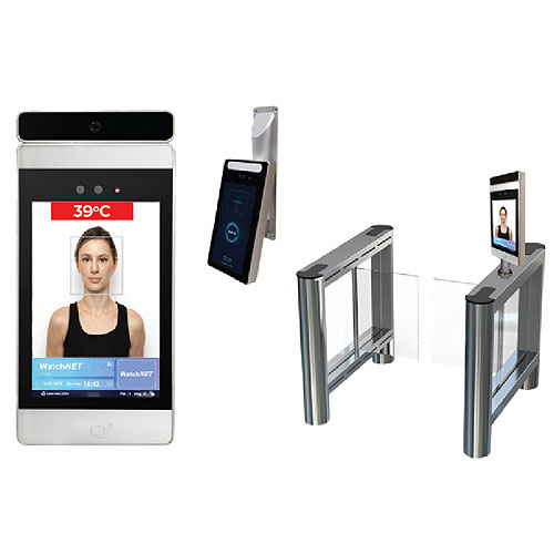 Watchnet WAF-428DT Face Recognition Device With Built-In Body Temperature Detection