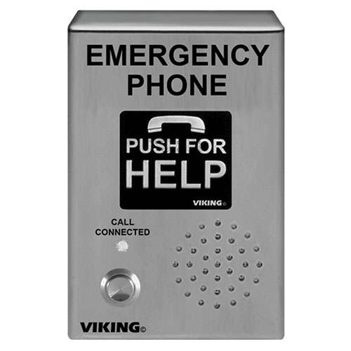 VOIP STAINLESS STEEL, HANDSFREE EMERGENCY PHONE