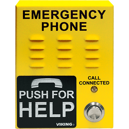 Elevator Phone  Yellow