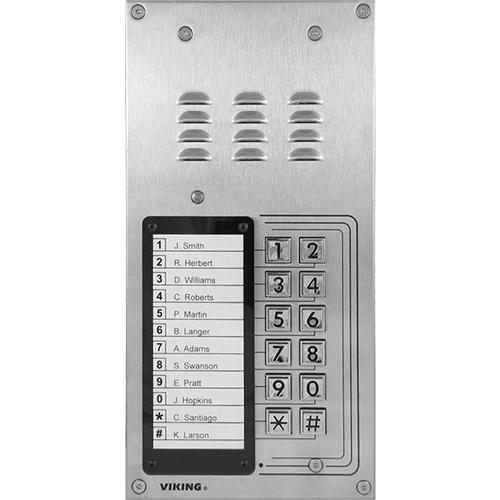 Viking K-1200-IP VOIP Entry Phone W/Keypad 12#dialer