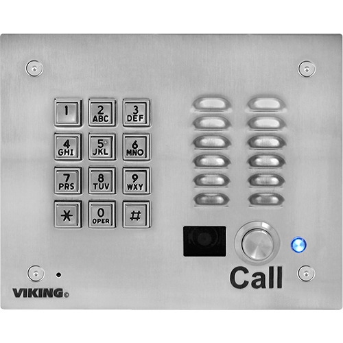 VOIP ENTRY PHONE W/ KEYPAD, AUTO DIALER