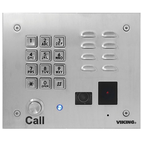 VOIP PHONE W/ KEYPAD, DIALER, KEYLESS ENTRY,CAMERA
