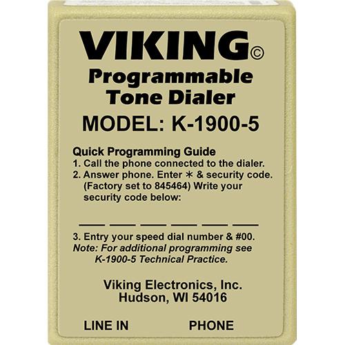 Viking Electronics K-1900-5 Touch Tone Dialer