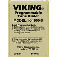 Viking Electronics K-1900-5 Touch Tone Dialer