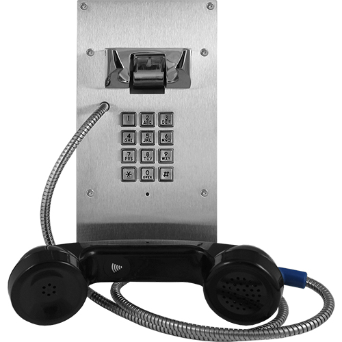 VOIP ENTRY PHONE W/ HANDSET AND KEYPAD