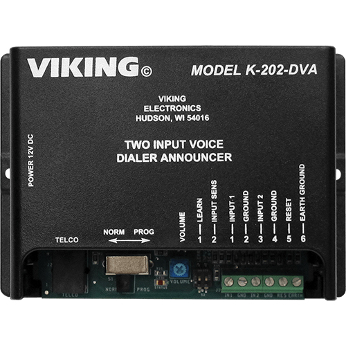 Viking Electronics K-202-DVA Alarm Voice/Pager Dialer