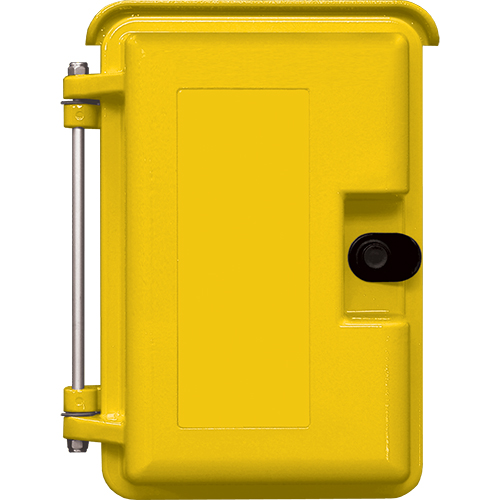 "YELLOW HEAVY-DUTY OTDR ENCLSR W/OPT ""TELEPHONE""LBL"