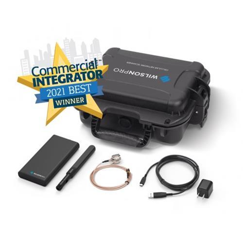 WilsonPro 910055 Cell LinQ Meter  + App Site Survey Kit  (Hard Case)