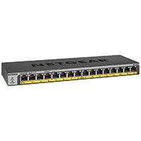 16-Port PoE/PoE+ Gigabit Ethernet Unmanaged Switch 183 Watt Power