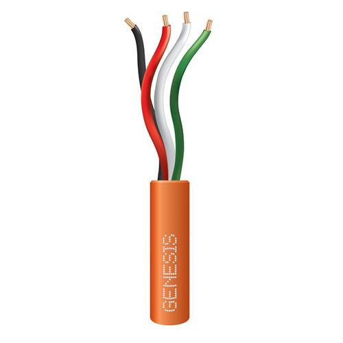 Genesis 21041103  22 AWG 4C Str Riser, Orange, 1000 ft. Pull Box