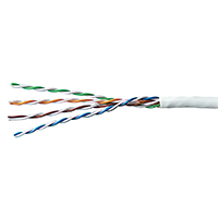 GENESIS 24/4 CAT 5E UTP GENERAL PURPOSE CABLE white