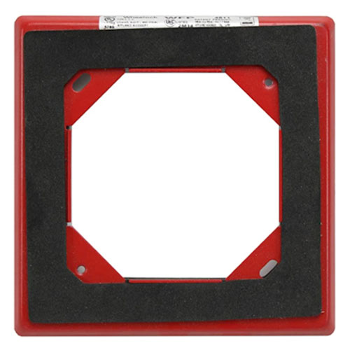 Eaton Mounting Plate for Horn, Strobe - Red