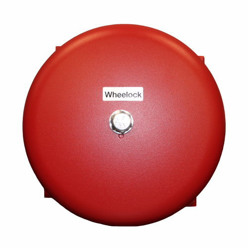 """Eaton Wheelock MB-G6-6-R MB Motor Bell, Vibrating, Indoor/Outdoor, 6VDC, 6"""" Shell, Red"""