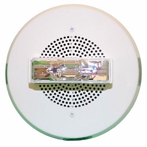 Eaton Wheelock CH90-24MCCH-FW CH Chime Strobe, Round, Ceiling, 24VDC, 115/177CD, White